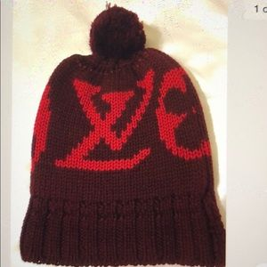 New authentic Louis Vuitton beanie cap